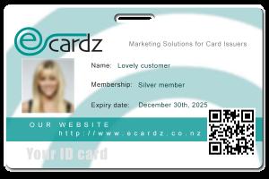 Adding card holder details