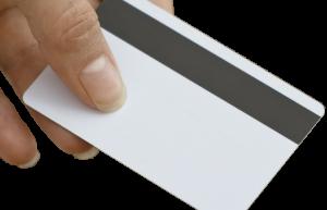 Magnetic stripe card thumbnail