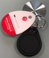 NFC tags for property key tracking